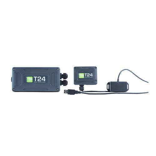 Trådløs signaloverførsel til måledata Mantracourt T24-serien