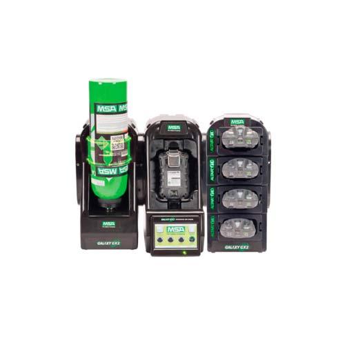 GALAXY GX2 automatiserede testsystem enkeltgasdetektorer og multigasdetektorer.